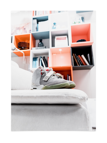 Pure Platinum Air Yeezy II<br>by @Ill_vibe