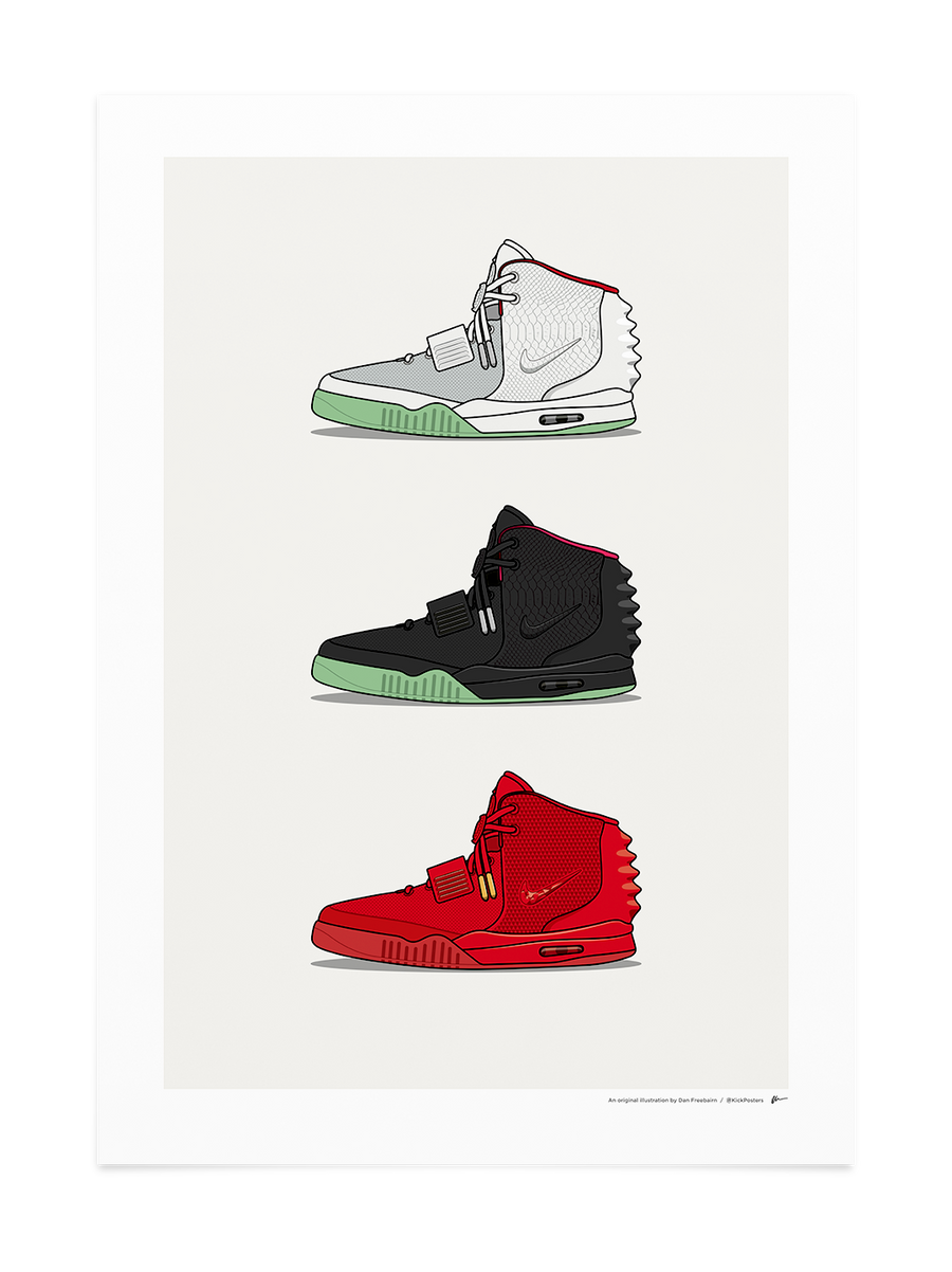 Triple Air Yeezy II