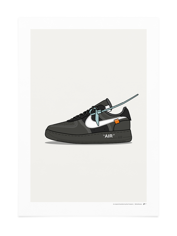 Off-White Air Force 1 Black