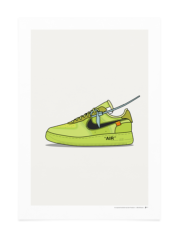 Off-White Air Force 1 Volt