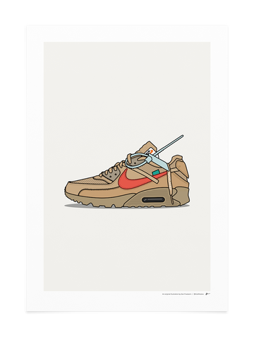 Off-White Air Max 90 Desert Ore