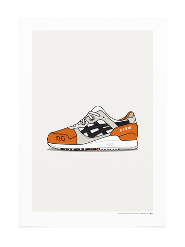 Gel Lyte III - Orange Koi