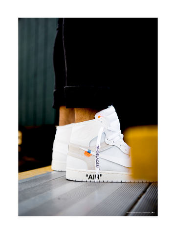 Off-White Jordan 1 White<br>by @ralphromeo