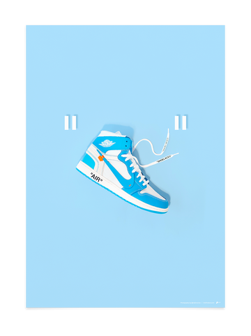 Off-White Jordan 1 UNC Quotes<br>by @ralphromeo