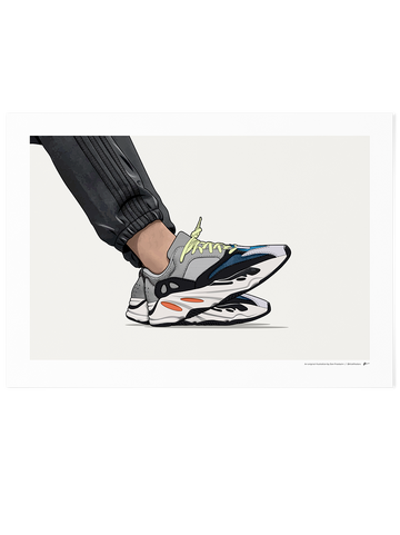 Yeezy 700 Wave Runner<br> On-Foot Limited Edition