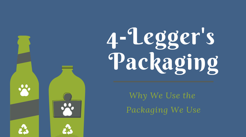 Learn why we use the packaging we do for our organic dog shampoo