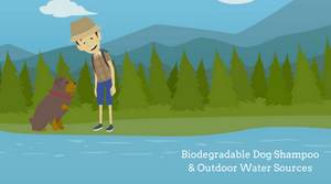 Is Biodegradable Organic Dog Shampoo Safe to Use in Outdoor Water Sources?