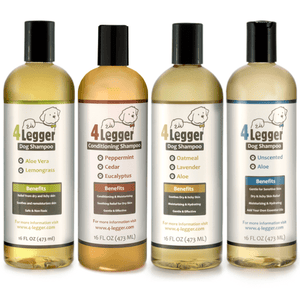Dog Shampoo Certified to USDA Organic Food Standards