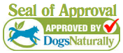4-Legger Dog's Naturally Magazine Seal of Approval