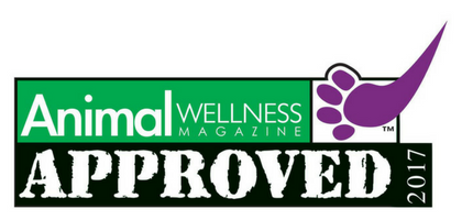 Animal Wellness Magazine Seal of Approval for Best Organic Dog Shampoo