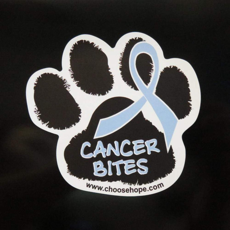 Cancer Bites Pet Awareness Magnet