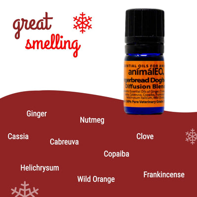 pet safe diffusion essential oil blend for Christmas