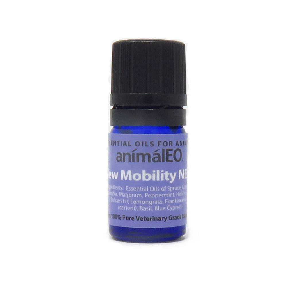 Pet safe essential oils to support sore muscles and reduce inflammation
