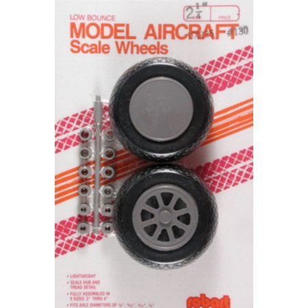 Robart Low Bounce Scale Wheels PK 2 #113