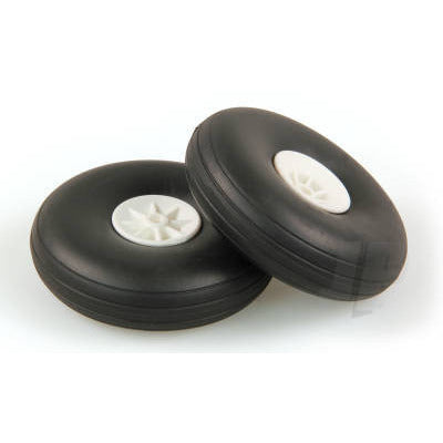 JP 2.0in - (50mm) White Wheels (2)