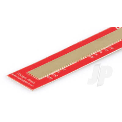 8244 .032 x 2 Brass Strip (1) - Model Heli Services