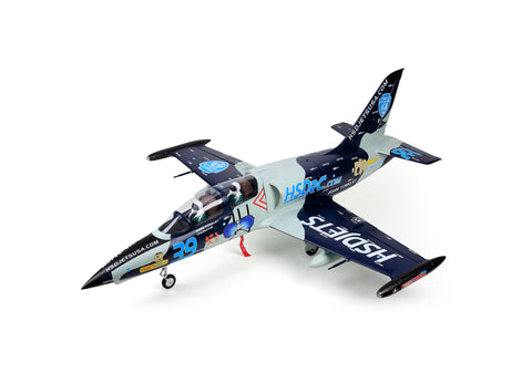 HSDJETS L39 Foam Turbine Blue Camo Colour PNP With Smoke System