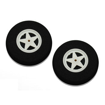 Spoked Sponge Wheels 2 1/2""
