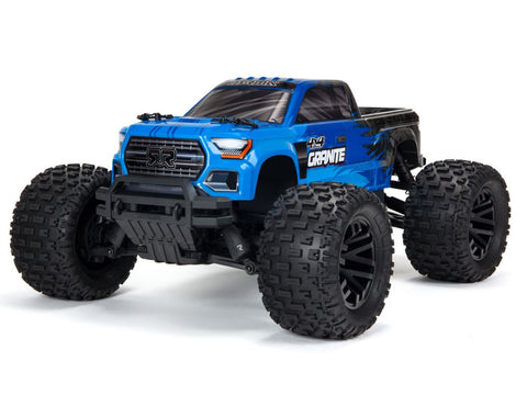 ARRMA Granite 4X4 MEGA 550 SLT3 Monster Truck RTR Blue