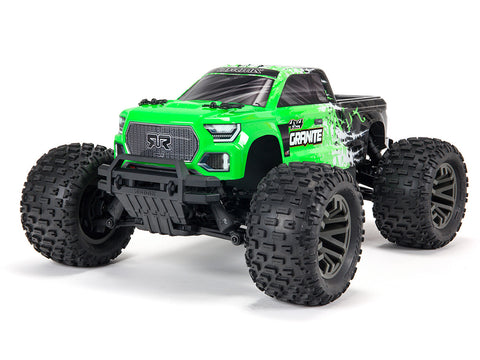 ARRMA Granite 4X4 3S BLX Firma SLT3 Monster Truck RTR Green (No Battery & Charger Included)