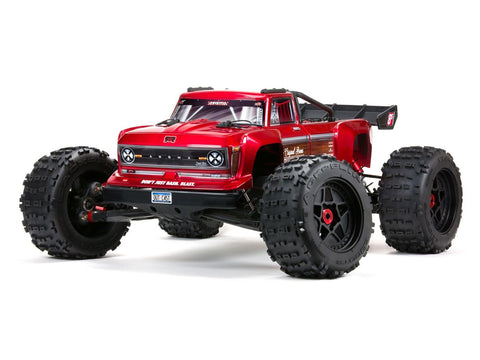 ARRMA OUTCAST 4X4 8S BLX 1/5th Stunt Truck Red ( No Battery or Charger Included )