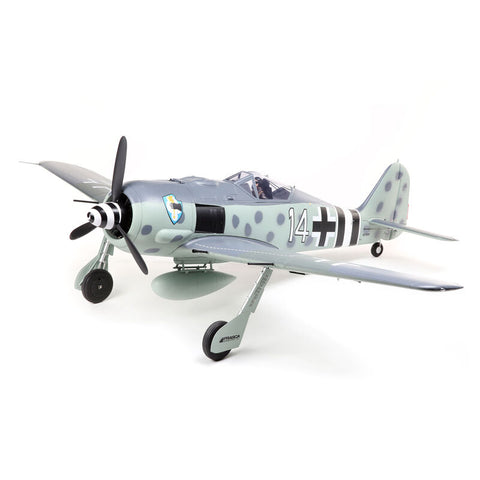 Eflite Focke Wulf Fw 190A 1.5m Smart BNF Basic with AS3X and SAFE Select