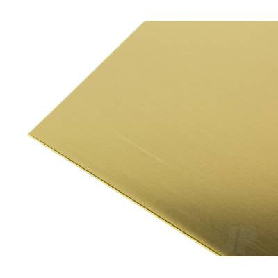.032 (20ga) 10x4in Brass Sheet 253