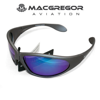 MacGregor Sunglasses Grey/ Blue Lens