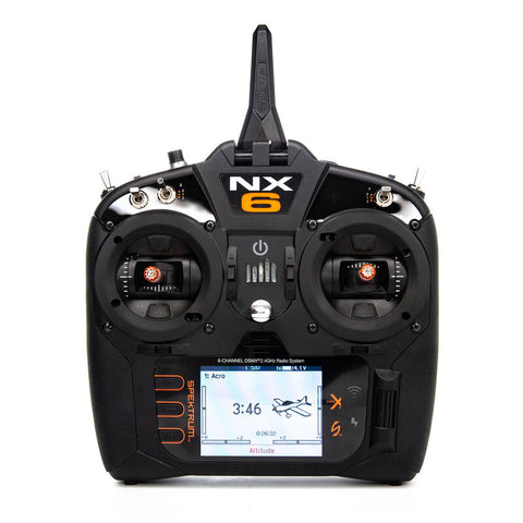 Spektrum NX6 6 Channel Transmitter Only SPMR6775