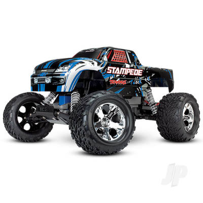 Traxxas Stampede XL-5 2WD  ( inc 8.4v Batt & Mains Charger ) Blue