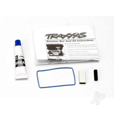 Traxxas Seal kit , receiver box (includes o-ring, seals, and silicone grease)
