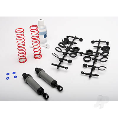 Traxxas 3762A Ultra shocks (grey) (XX-Long) (rear) (2pcs)
