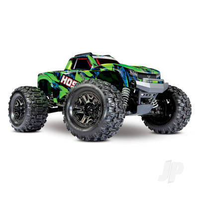 Traxxas Hoss VXL 1:10 4X4 RTR Monster Truck Green (+ TQi, TSM, Self-Righting, VXL-3S, Velineon 540XL)