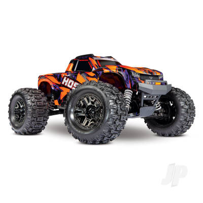 Traxxas Hoss VXL 1:10 4X4 RTR Monster Truck Orange (+ TQi, TSM, Self-Righting, VXL-3S, Velineon 540XL)