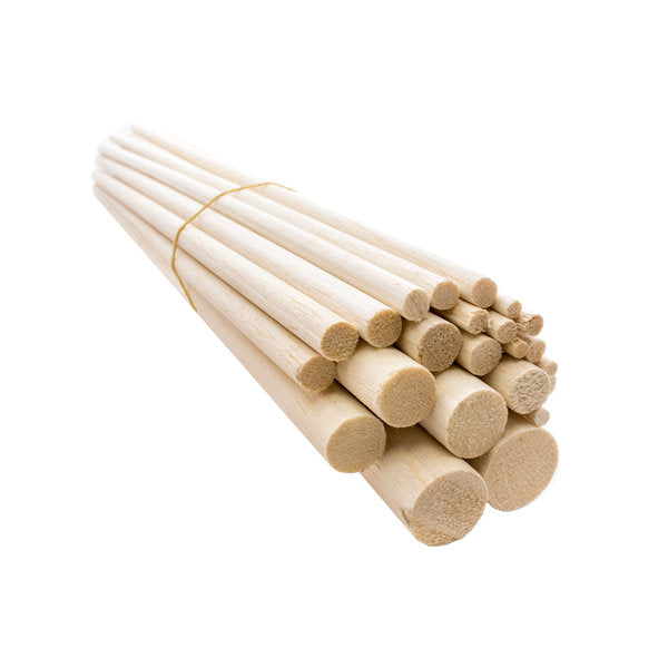 5mm (3/16in) 900mm Hardwood Dowel