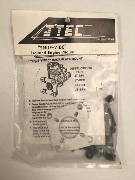 Jtec SNUF VIBE Isolated Back Plate Engine Mount
