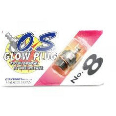 OS No8 Glowplug Model Heli Services