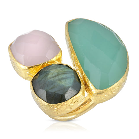Multi-stone Cocktail Ring