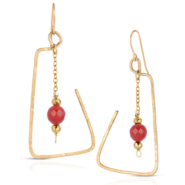 Axum Drop Earrings