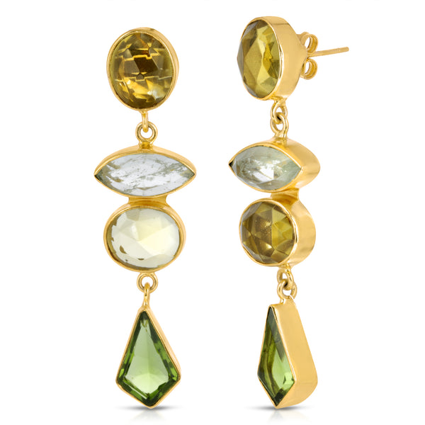 Waje Multi-Stone Earrings