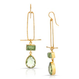 Angelique Green Kyanite Earrings