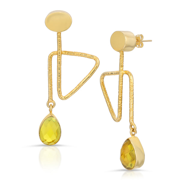 Miriam Lemon Quartz Earrings