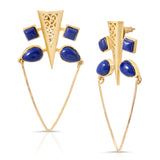 Qalhata Lapis Earrings