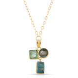 Ziya Multi Gemstone Necklace