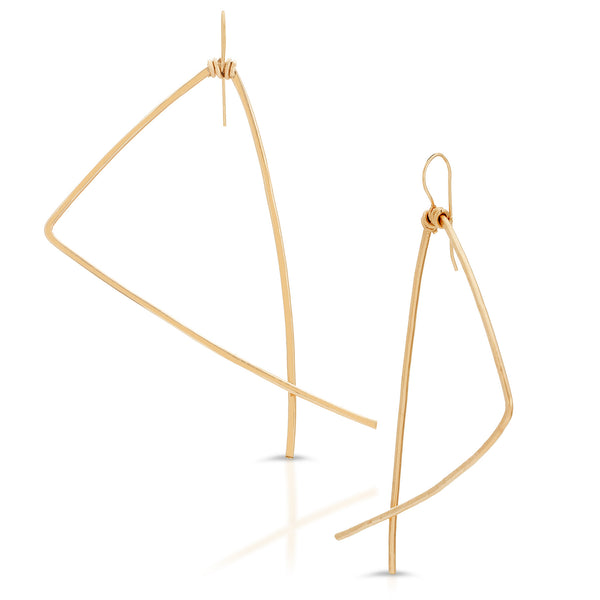 KINSHASA Triangle  Earrings