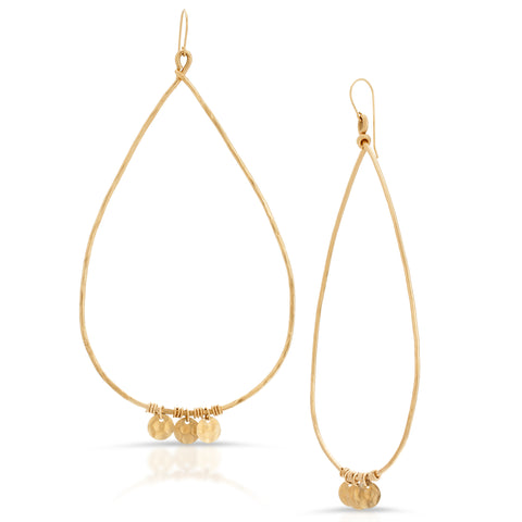 Amina Gold  Hoops