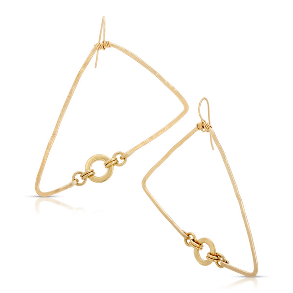KAMPALA Triangle  Earrings