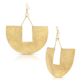 Lamu Beach Demi Hoop Earrings