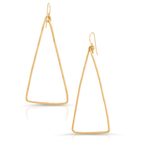 MAYA Triangle Earrings