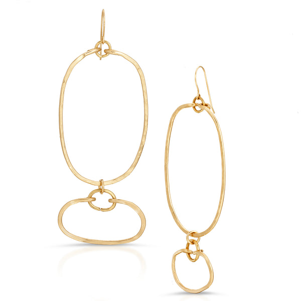 HARARE Gold Earrings